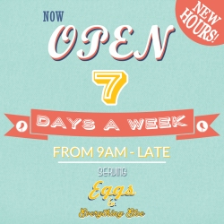 39 Carden New Hours