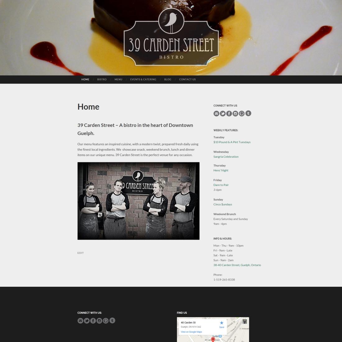 39 Carden Street Website