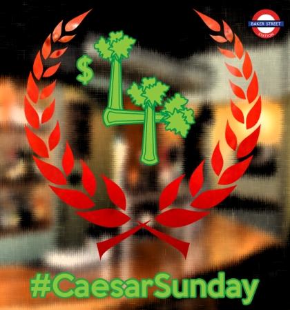 Caesar Sunday wreath