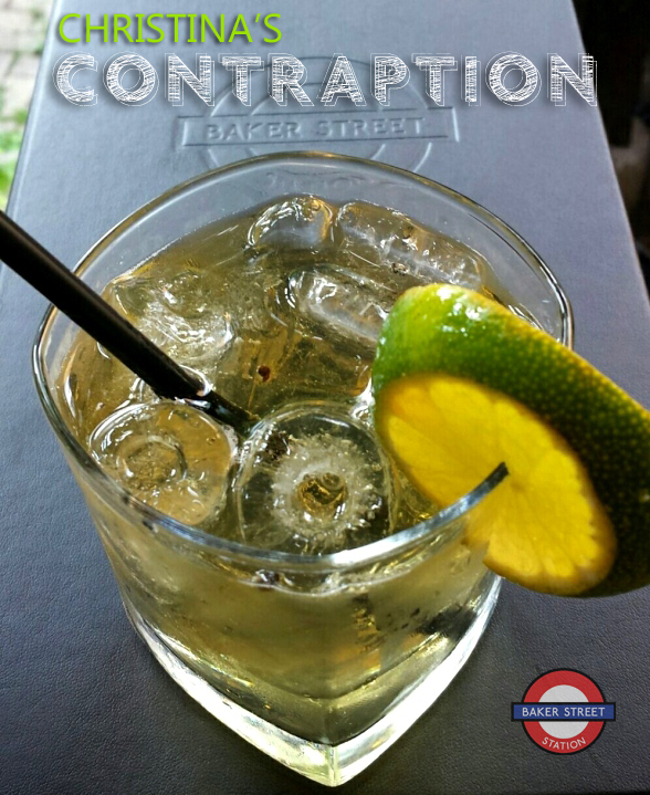 Christina's Contraption - Baker Street Station Cocktail