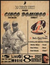 Cinco Domingo Poster
