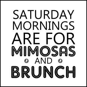 mimosas and brunch