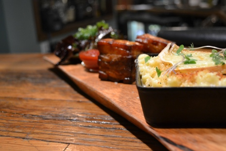 Pork Belly Mac & Cheese