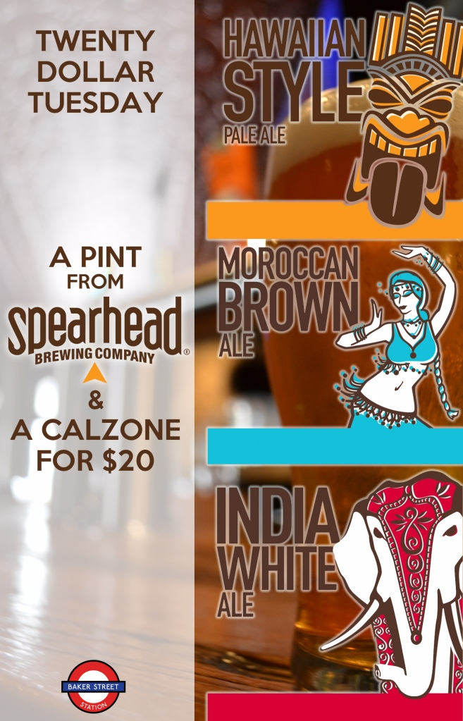Spearhead and calzone